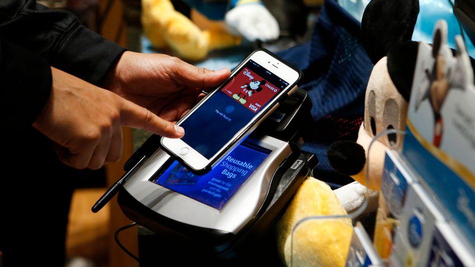 Nur für die Early Adopters: NFC-Bezahlterminal in Disney Store