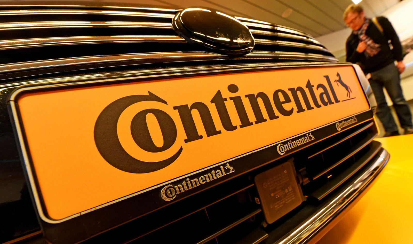EINMALIGE VERWENDUNG Continental