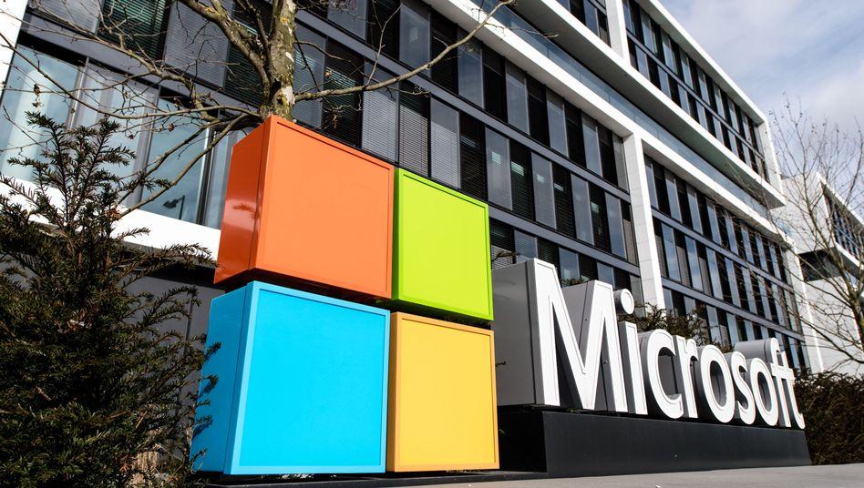 Microsoft-Deutschland-Zentrale in München