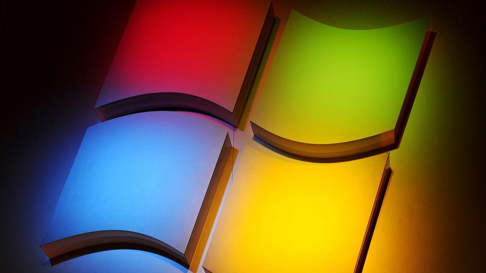 Microsoft-Software Windows: Wegen des Booms bei Tabletcomputern und Smartphones geht die Nachfrage nach traditionellen PCs mit Windows-Software zurück