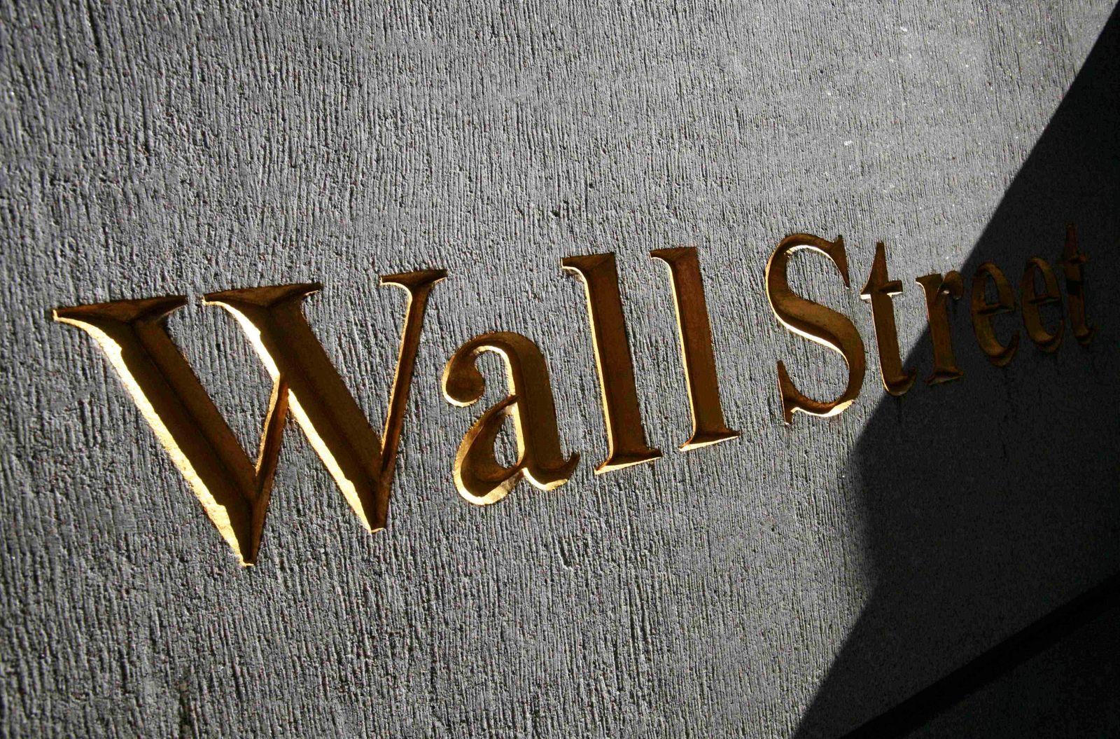 Weltwirtschaft/ Börsenbeben/ Wall Street