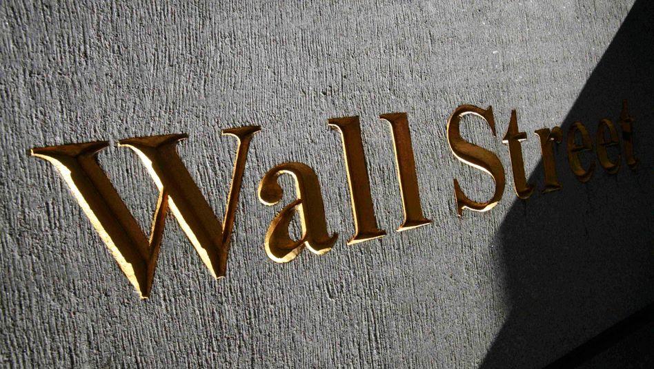 Wall Street in New York: Die US-Banken blicken in eine rosige Zukunft - anders als ihre europäische Konkurrenz