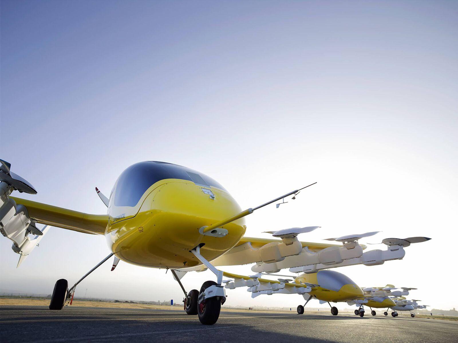 181017 WELLINGTON Oct 17 2018 Photo released by shows autonomous electric air Taxi Cora