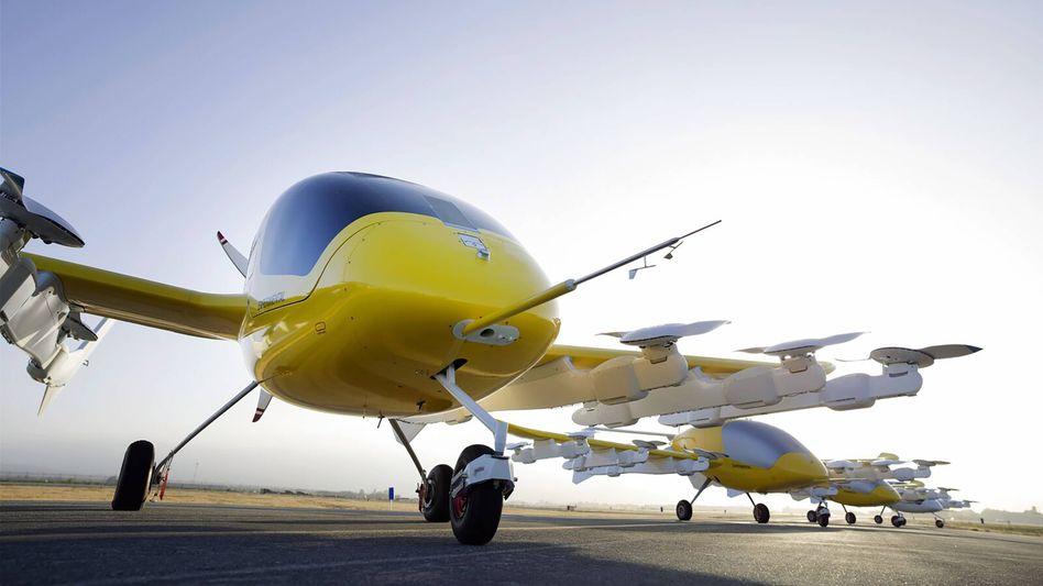 Sebastian Thrun baut mit seinem Unternehmen Kitty Hawk selbstfliegende Senkrechtstarter.