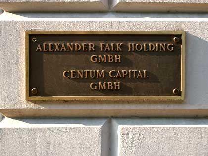 Vermögen eingefroren: Alexander Falk Holding