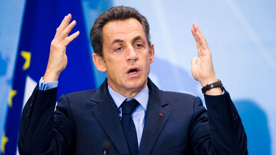 Mann der großen Gesten: Frankreichs Präsident Sarkozy wollte die großen Fragen der Welt lösen