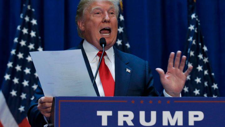 US-Wahlkampf: Donald Trump for President