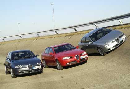 Alfa Romeo TI-Modelle: Fahrer mit Vorliebe für düsteres Ambiente