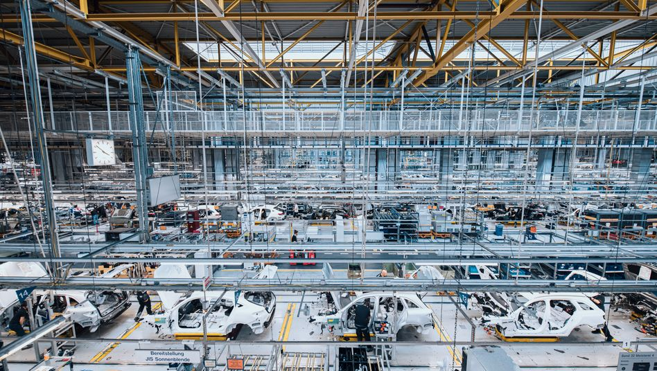 Mercedes-Produktion im Werk Bremen