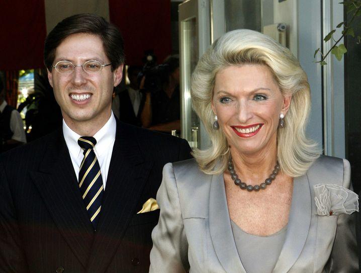 Platz 3: Georg und Maria-Elisabeth Schaeffler - INA-Holding Schaeffler, Herzogenaurach (Maschinenbau); Continental, Hannover (Autozulieferer), 21,5 Mrd. Euro (+ 1,5 Mrd.)