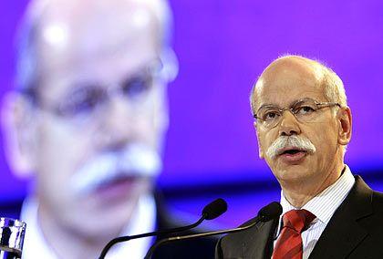 Daimler gibt sich gelassen:Konzernchef Zetsche