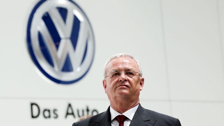 """Martin Winterkorn (Archiv): Für die US-Behörden ist der Ex-VW-Chef """"weiterhin auf der Flucht"""". Eine Auslieferung aus Deutschland muss Winterkorn jedoch nicht fürchten"""