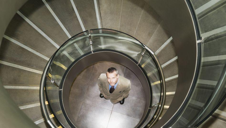 Im Job nach oben: Nach Expertenmeinung alles andere als Zufall