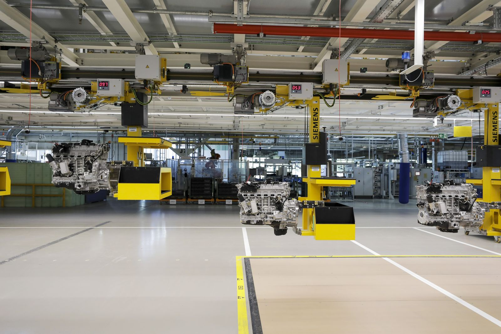 Daimler AG Reopens its German Powertrain Factory