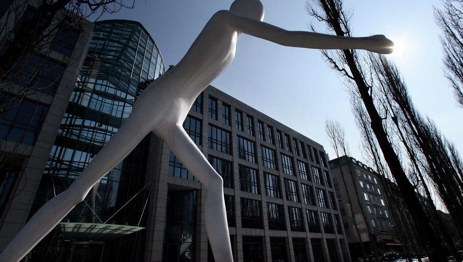 Beliebtes Investment: Die chinesische Notenbank ist beim Rückversicherer Münchener Rück eingestiegen (im Bild: Die Konzernzentrale in München)