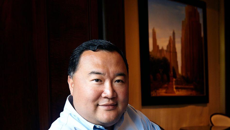 """Bruno Wu: Der """"Rupert Murdoch Chinas"""" setzt auf enge Zusammenarbeit mit """"Big T"""" Thomas Middelhoff. Bruno und Thomas haben mit ihrer Firma BT Capital Großes vor - sie investieren in Filmstudios, TV- und Internetfirmen"""
