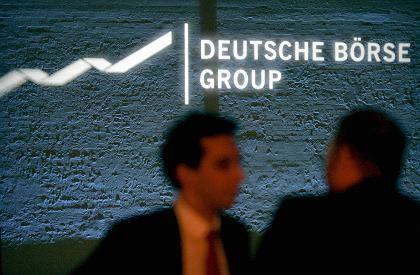 Noch nicht am Ziel: Deutsche Börse