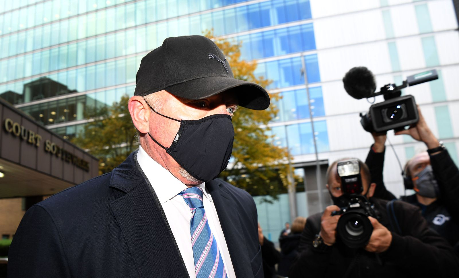 Boris Becker trial in London, United Kingdom - 22 Oct 2020