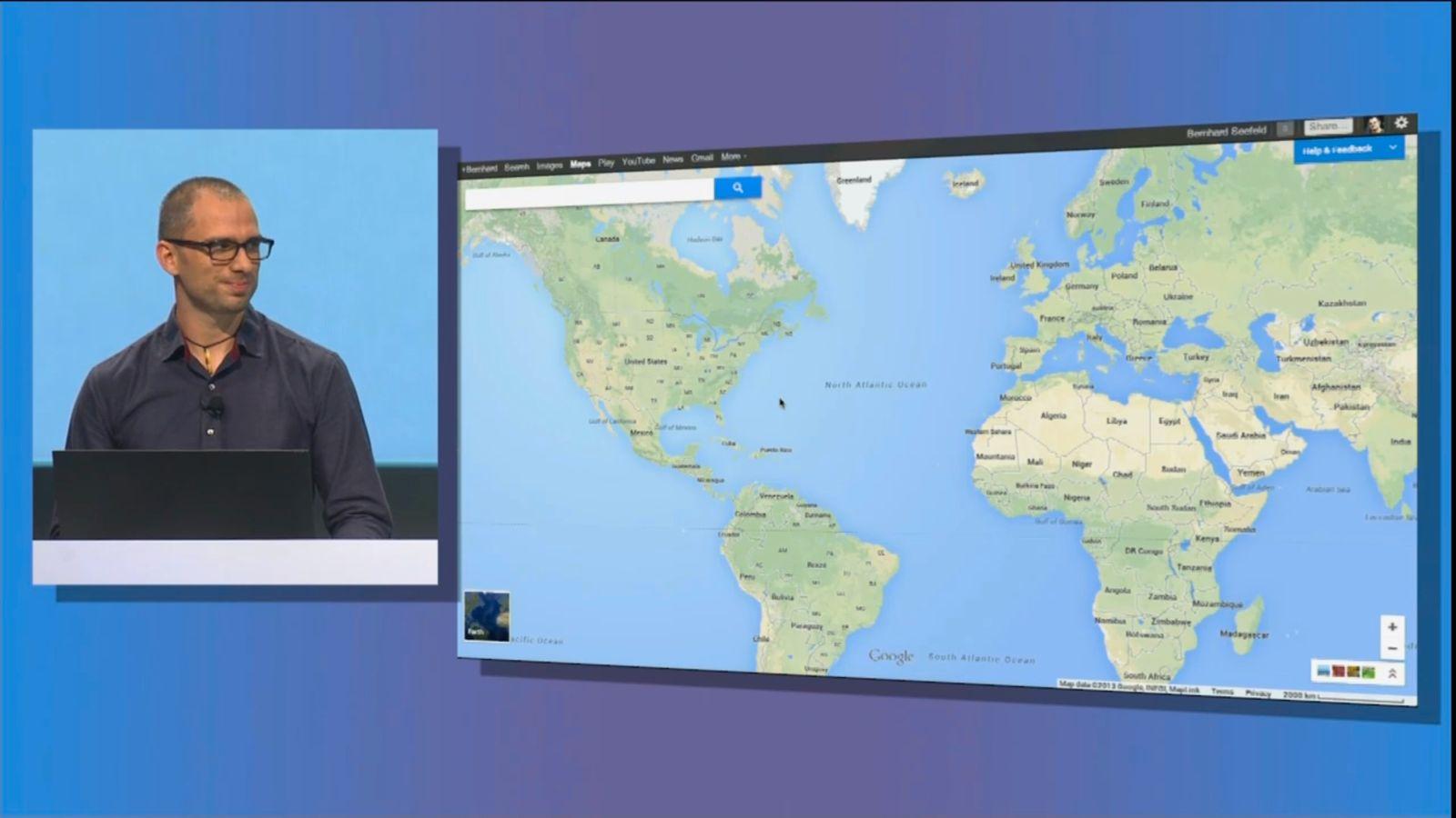 Screenshot Google IO 2013