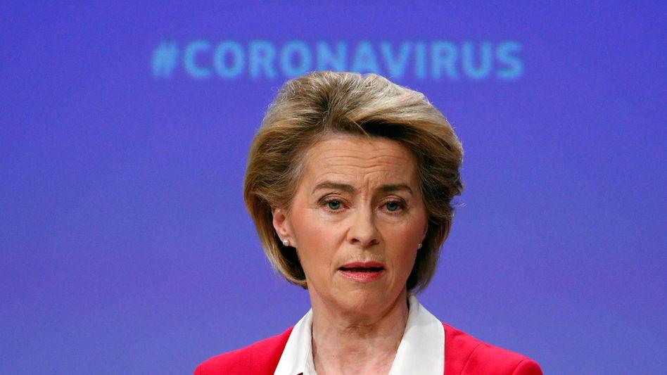 """""""Um es klar zu sagen ..."""": EU-Kommissionspräsidentin Ursula von der Leyen fordert vor einer Freigabe von Corona-Impfstoffpatenten verstärkte Exporte von allen Ländern, die die Vakzine produzieren"""
