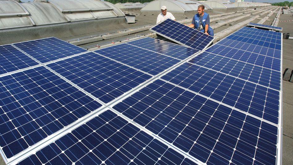 Solarmodule von Solarwatt: Das Unternehmen aus Dresden hat Insolvenz angemeldet