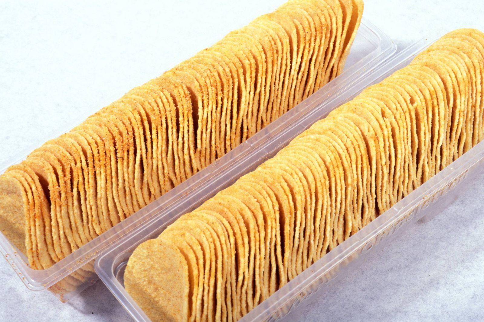 EINMALIGE VERWENDUNG Chipsletten