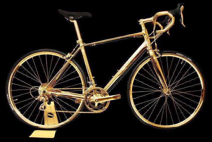 Ein Rad, so teuer wie ein Haus: Bike von Goldgenie