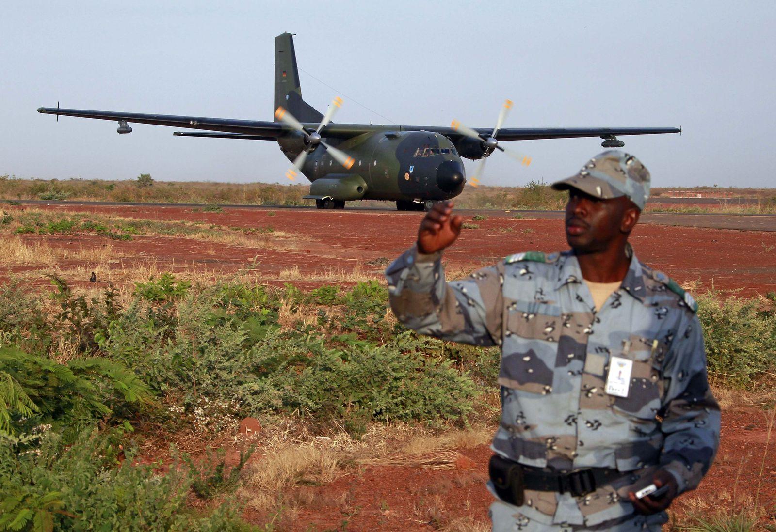 Transall für Mali