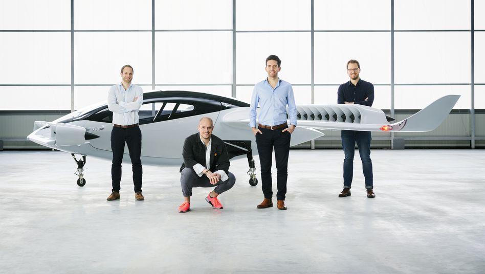 Zum Jungfernflug enthüllter Prototyp: Das Flugtaxi-Unternehmen Lilium steht vor Börsennotierung durch Fusion