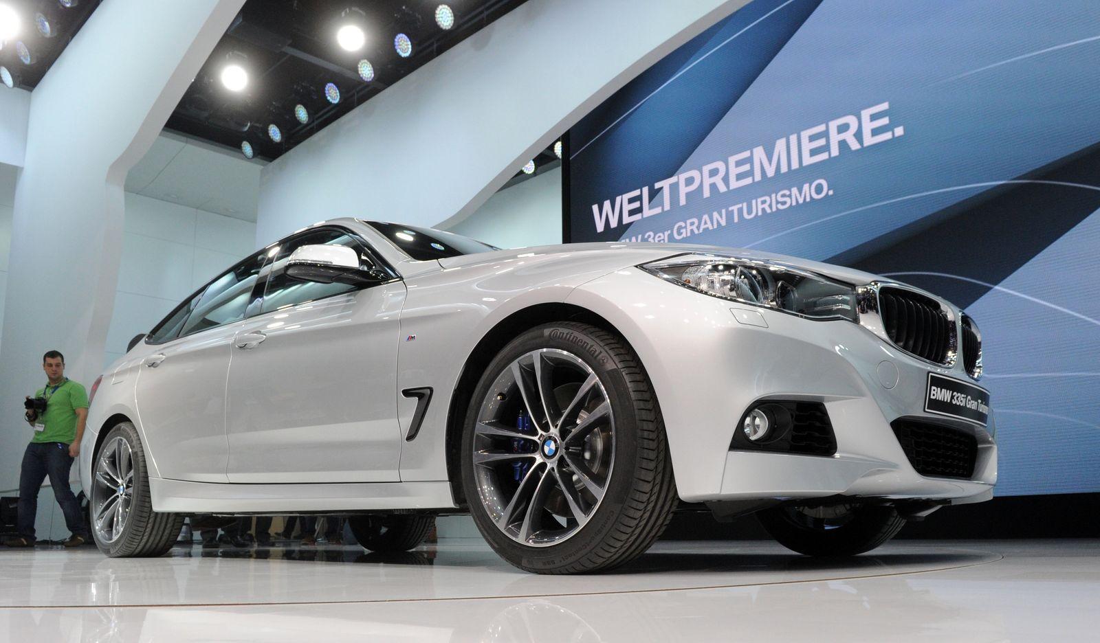 Genf 2013 / Rundgang / BMW 3er Gran Turismo