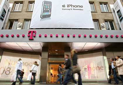 Exklusiver Deal: In Deutschland vertreibt nur T-Mobile das iPhone