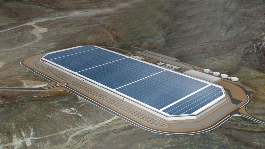 Teslas geplante Mega-Batteriefabrik in Nevada: Größer als alle anderen Produktionsstätten zusammen