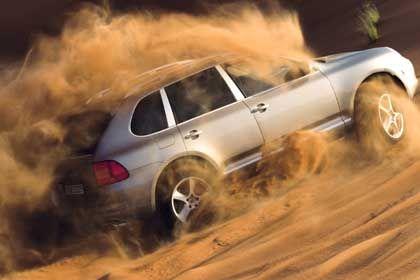 Porsche Cayenne: Ähnlichkeiten mit VW Touareg