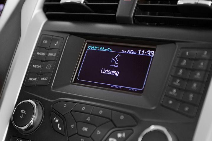 Ford-Infotainmentsystem Sync in bisheriger Version: Die neue Version soll Smartphones deutlich besser einbinden