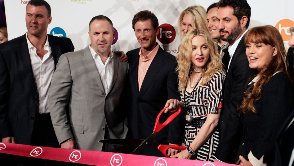 """""""Hard Candy Fitness"""": Madonna in ihrem neuen Studio"""