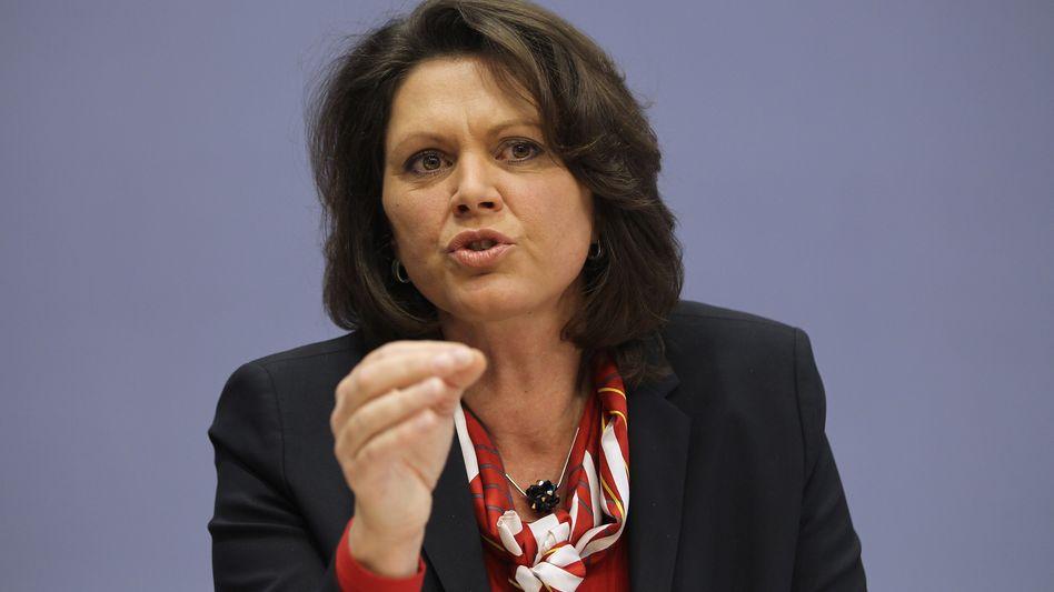 Landwirtschafts- und Verbraucherschutzministerin Ilse Aigner: Stellungnahme kurz vor Verhandlungsbeginn