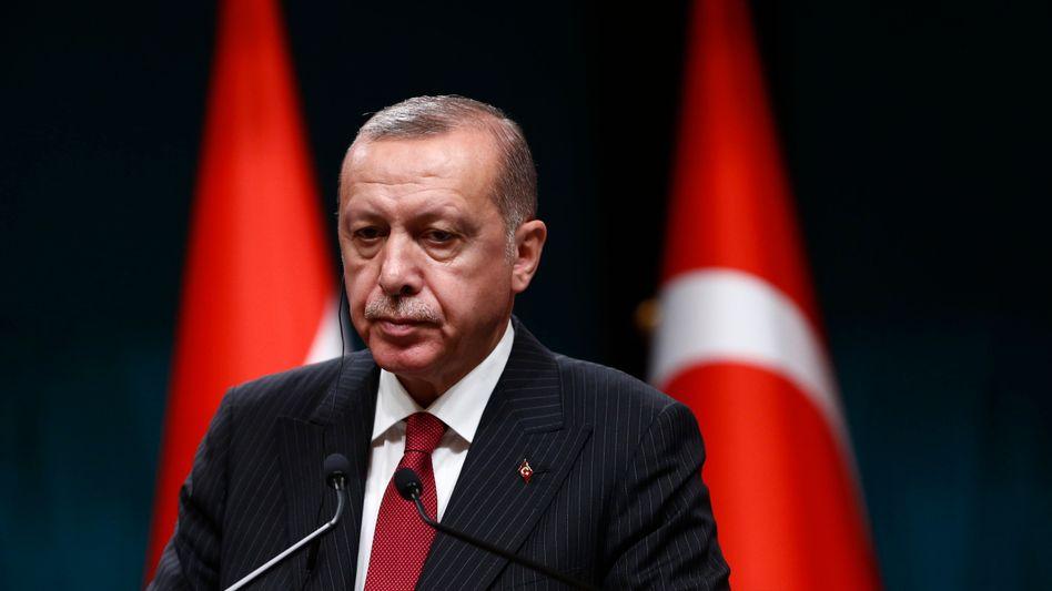 Recep Tayyip Erdogan: Der Lira-Verfall setzt den Präsidenten der Türkei unter Druck