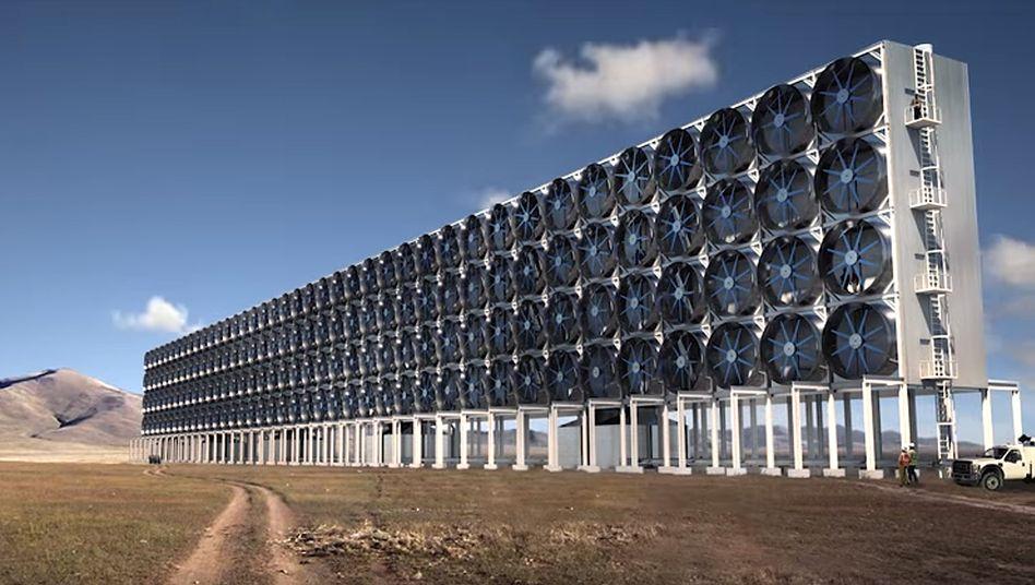 Kohlendioxid-Sauger von Carbon Engineering in British Columibia
