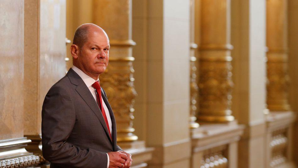 Bundesfinanzminister Olaf Scholz: Kanzlerkandidat der SPD