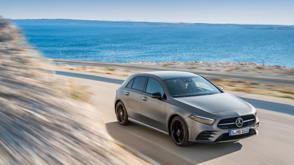 Mercedes A-Klasse Diesel: Der Marktanteil der neu zugelassenen Dieselfahrzeuge in Deutschland ist unter ein Drittel gesunken
