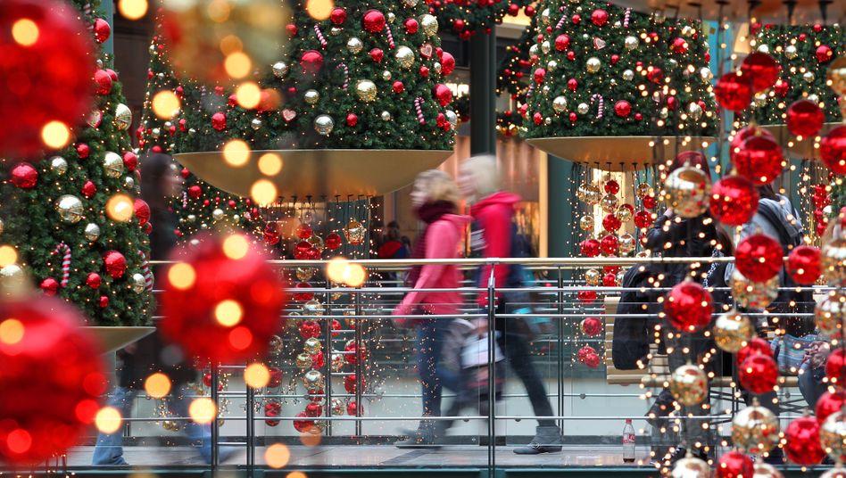 Letzte Weihnachtseinkäufe in Oberhausen: Der Einzelhandel kann auf gute Weihnachtsumsätze in diesem Jahr zurückblicken