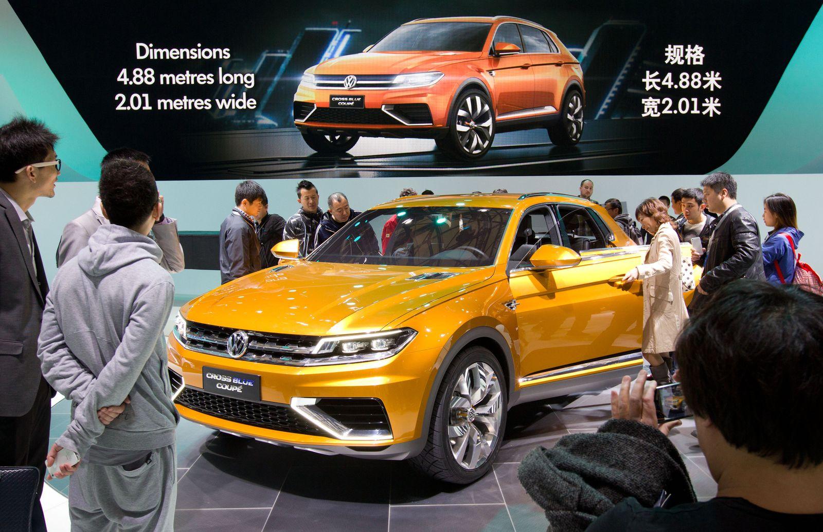 Volkswagen / Auto Shanghai / Automesse China