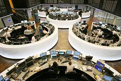 Börse Frankfurt: Dax-Schwergewichte stützen den deutschen Leitindex