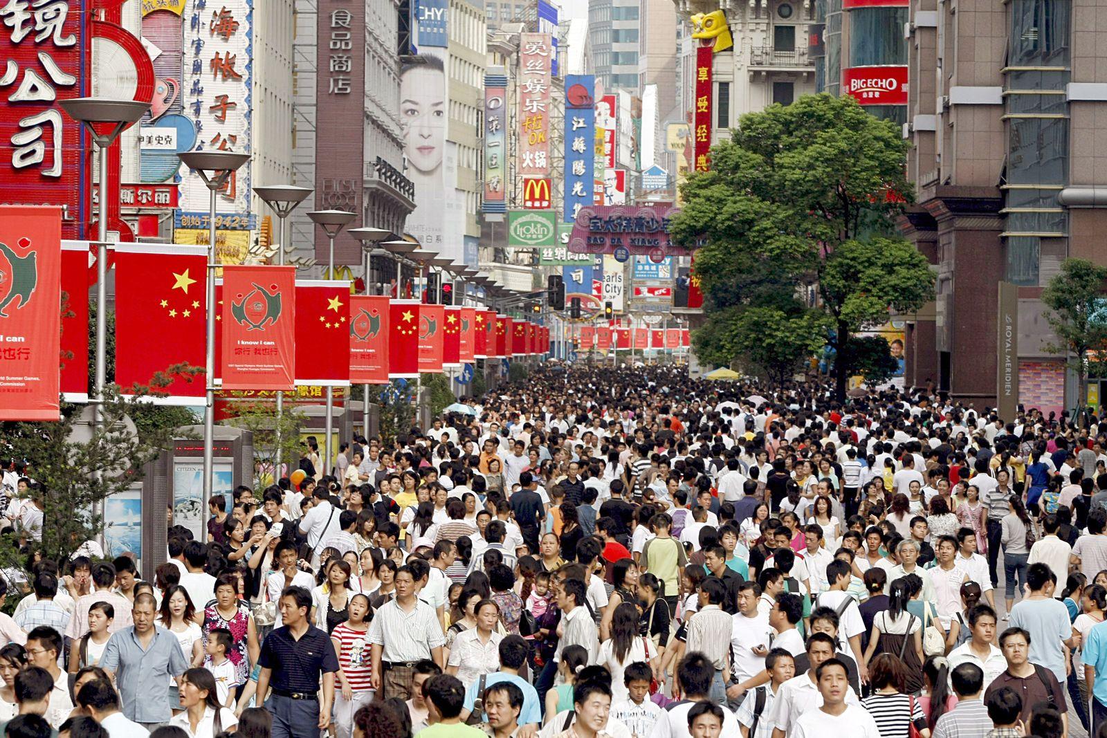 Asien / China / Bevölkerung