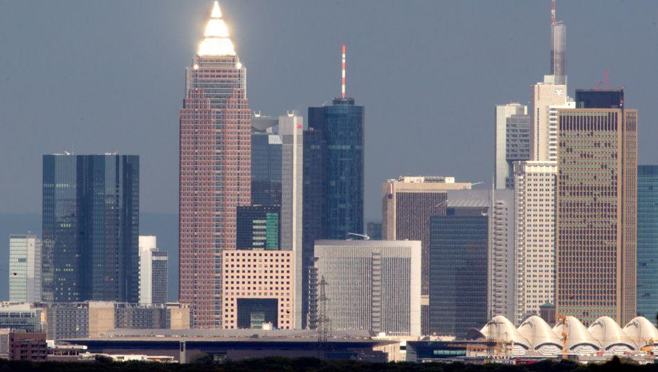 Frankfurt am Main: Banker wieder optimistischer