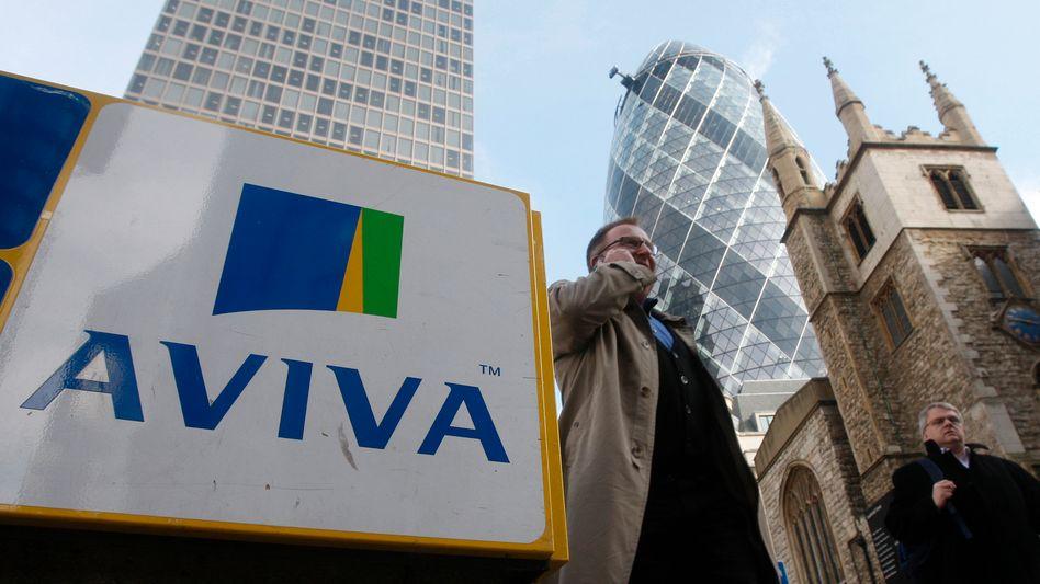 Aviva-Zentrale London: Der britische Versicherer stößt unter Führung seiner neuen Chefin Amanda Blanc erneut Geschäftsteile ab, und erneut greift die Allianz zu
