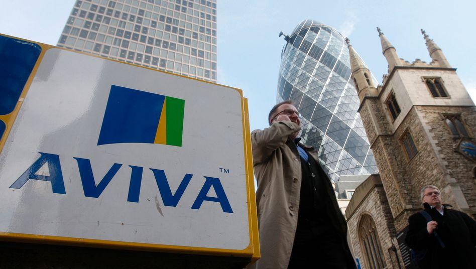 Aviva in London: Das fusionierte Unternehmen hat einen Marktwert von 25,6 Milliarden Euro