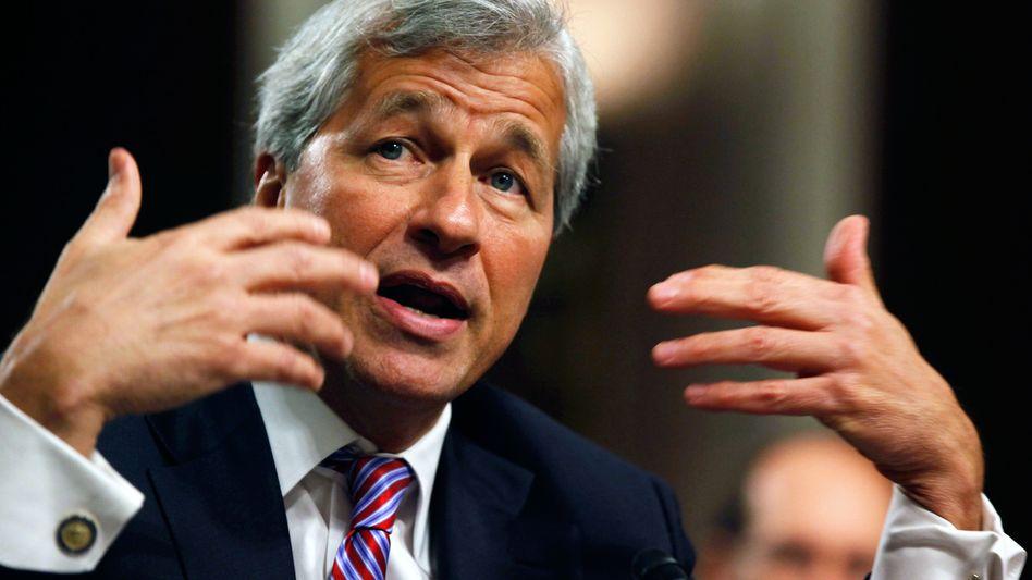 JPMorgan-Chef Jamie Dimon: Einer der letzten Verfechter des Universalbankmodells