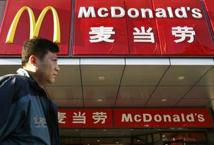 Burger für Chinesen: Das Wachstum in China soll vor allem per Franchise organisiert werden