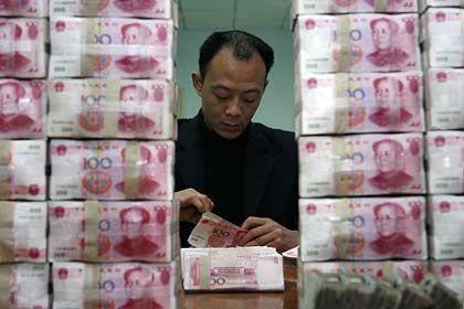 Wenig direkte Verluste: Noch halten sich die Auswirkungen der Kreditkrise auf Chinas Banken in Grenzen
